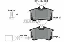 2382301 TEXTAR CAR BRAKE PADS Rear