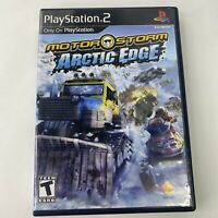 MotorStorm: Arctic Edge (Sony PlayStation 2, PS2,2009) Racing Bikes Big Rigs CIB