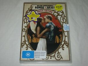 Romeo And Juliet - Music Edition - Brand New & Sealed - Region 4 - DVD
