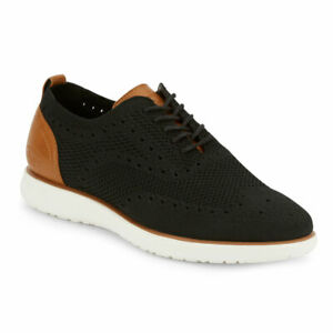 G.H. Bass & Co. Mens Kole Knit UL X Casual Stretch Knit Oxford Sneaker Shoe