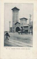 BROOKLYN NY – Coney Island Mount Pelee – udb (pre 1908)