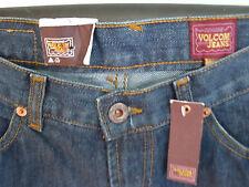 VOLCOM Jeans Trousers NEW 26 W 32 L STRAIGHT LEG Blue girl NEW