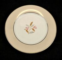 Noritake China Sheridan Bread Plate Vintage 1953-1958 Rose Platinum