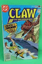 Claw the Unconquered #11 Sword & Sorcery Comic DC Comics F/F+