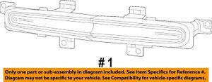 Dodge CHRYSLER OEM 11-14 Avenger-3rd Third Brake Light-Lamp 5182516AD