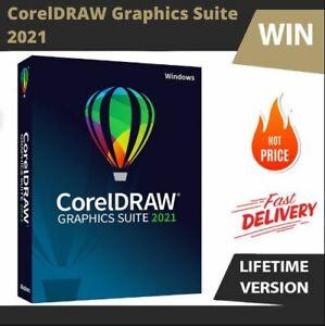 CorelDRAW Graphics Suite 2021🍁Full & Latest Version 🍁Win🍁 Fast Delivery🍁