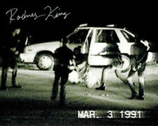 RODNEY KING SIGNED PHOTO 8X10 RP AUTOGRAPHED L.A. RIOTS