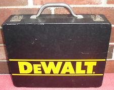 DeWalt Empty Metal Tool Box Storage Case 13 1/2 x 10 1/2 x 3 1/2 For DW971 Drill