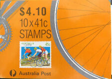 Cycling Australian Stamp Booklets