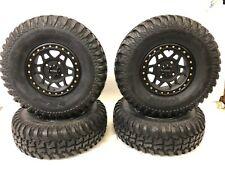 "Method 405 Beadlock Front & Rear Wheels Rims Tensor Regulator Tires 32"" RZR XP"