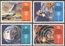 Cocos (Keeling) 1987 AEREI/satellitare/Radio/spazio/comunicazioni 4 V Set n19004