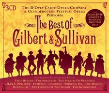 The Best Of Gilbert & Sullivan Box set Collector's Edition 3 CDs + Bonus DVD