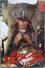 "LEONIDAS Gerard Butler 300 Movie 12"" inch Talking Figure with Sound Neca 2009"