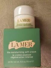 La Mer the Moisturizing Soft Cream Deluxe size  0.5 oz / 15 ml NIB Fresh