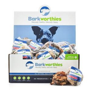 BARKWORTHIES BEEF KNEE CAP   Free Shipping