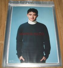 EXO SING FOR YOU SMTOWN COEX Artium SUM OFFICIAL GOODS DO D.O. A4 SIZE PHOTO NEW