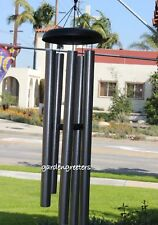 """LARGE 50"""" WIND CHIME  50"""" LARGE WIND CHIME - PEWTER"""