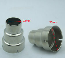 2PCS Iron circular nozzle Outlet Φ 22mm for Φ33mm 1600W 1800W 2000W hot air gun