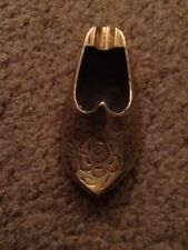 VINTAGE BRASS ASH TRAY SLIPPER SHOE   See Photo, Made In India