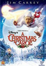 Disneys a Christmas Carol  DVD Jim Carrey, Gary Oldman, Colin Firth, Steve Valen