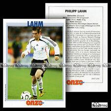 LAHM PHILIPP (BAYERN MUNICH) - Fiche Football / Fussball 2006