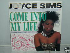 "*****JOYCE SIMS""COME INTO MY LIFE""-12""Inch*****"