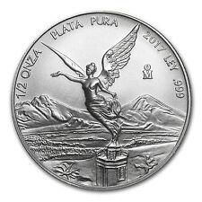 2017 Mexico 1/2 oz Silver Libertad BU - SKU #150002