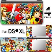 Super Smash Bros Amazing SKIN VINYL STICKER DECAL COVER #1 For Nintendo DSi XL