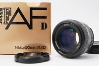 [MINT in BOX] Nikon AF Nikkor 50mm f/1.4D Prime Lens For F Mount From Japan