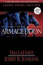 Armageddon (Large Print), LaHaye, Tim, Jenkins, Jerry B., 0842365605, Book, Good