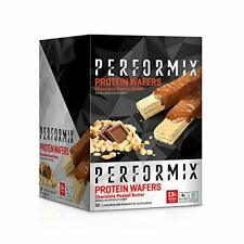 PERFORMIX | Protein Wafers | Chocolate Peanut Butter  | 24 Bars (12 pk x 2 bars)