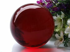 40mm HOT Sell NATURAL OBSIDIAN POLISHED RED CRYSTAL SPHERE BALL