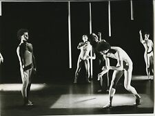 "PHOTO ORIGINALE : COMPAGNIE QUENTIN ROUILLIER ""Recreation"" PARIS 1980"