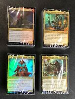 Magic the Gathering 2019 Commander Set of All 4 Sealed Decks Lot Merciless Rage