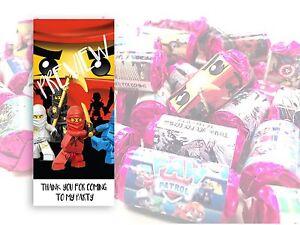Ninjago Mini Love Hearts Sweets Party Bag Fillers Kids Childrens #12