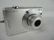 Sony Cyber-shot DSC-W30 6.0MP Digital Camera - Silver