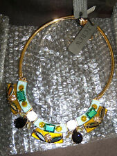 Collar Necklace #E6444 New Nwt J. Crew Lucite-and-Crystal
