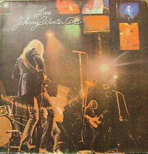 JOHNNY WINTER-JOHNNY WINTER AND LP VINILO DOUBLE COVER (BRASIL) GOOD COVER