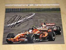 Markus Winkelhock Formel 1 F1 Autograph Signed Signiert FOTO 20x30 **TOP**