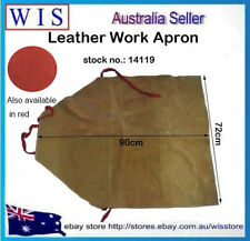 Leather Welding Bib Apron,Welder's Leather Aprons,Timber and Steel Work-14119