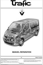 manuel atelier technique réparation entretien Renault Trafic II Phase 1 & 2