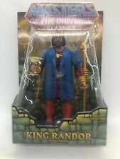 Masters Of The Universe Classics King Randor Action 6 Inch Figure w/White BoxA46