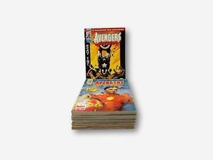 12 magasines Marvel Conics Avangers - Février 1997 à Janvier 1998 - n° 1 à n° 12