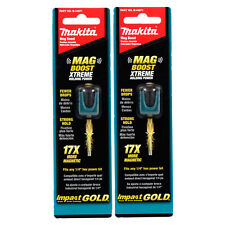 "Makita B-44971 Impact Gold Magnetic Boost 2 Pack for 1/4"" Hex Bits"