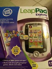 LeapFrog LeapPad explorer with camera Learning Toys Activity open box