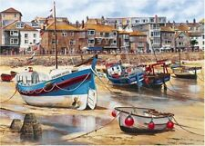 Gibsons ST IVES 1000 Pieces Jigsaw Puzzle Vintage Harbour Cornwall Seaside