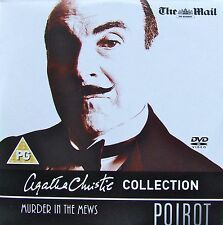 DVD Promo from the Mail on Sunday POIROT Murder in the Mews AGATHA CHRISTIE DVD