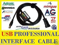USB LPG interface cable - AG ZENIT  COMPACT, AUTRONIC, AUTOGAS ITALIA, BARDOLINI