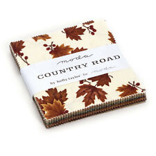 """Moda FABRIC Charm Pack ~ COUNTRY ROAD ~ by Holly Taylor  - 5"""" squares"""