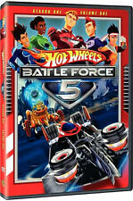 HOT WHEELS BATTLE FORCE 5: SEASON 1 V.1 / (FULL) - DVD - Region 1